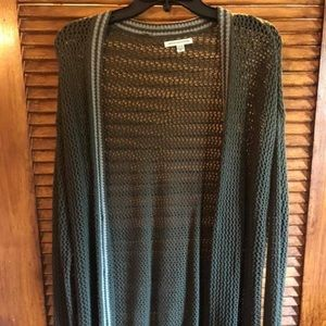 American Eagle net cardigan